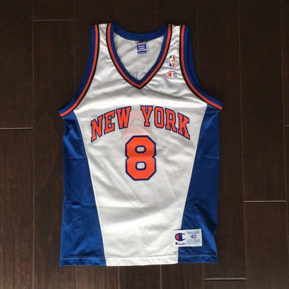 Champion Other - Champion New York Knicks Latrell Sprewell Jersey 3438830bf